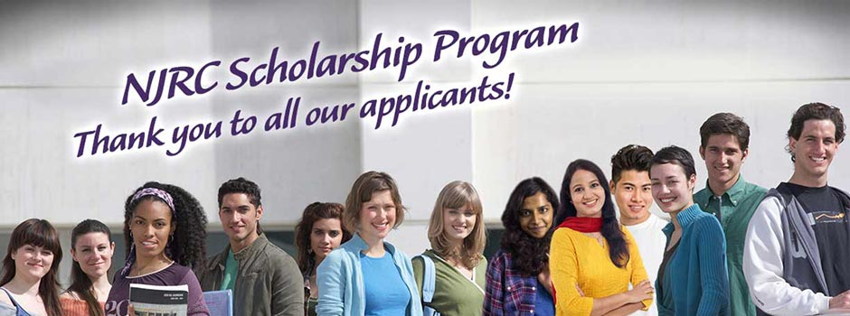 NJRC Scholarship Program - Thank you to all our applicants!